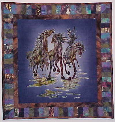 Handmade Quilts, Lap Throws and Wall Hangings For Sale from $35.00