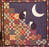 Custom Cat Quilt Wall Hanging