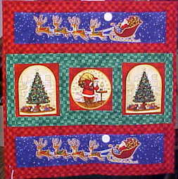 Christmas Time Wall Hanging Quilt $55.00