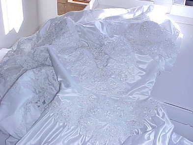 Christmas Wedding Dress Quilts