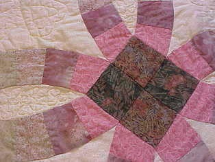 Handmade Double Wedding Ring Quilt For Sale Quilts For