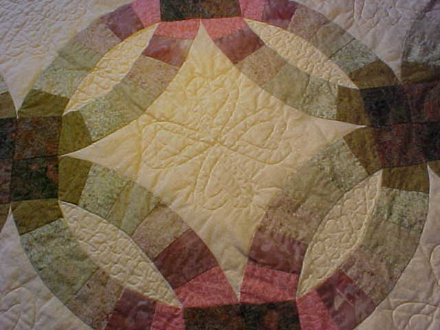 Handmade Double Wedding Ring Quilt For Sale Quilts For Sale